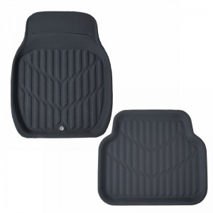 Discount Price China Factory Price Full Set Colourful Anti-Slip and Stain Removal Car Foot Mat for Car Interior