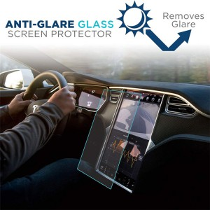 Chinese wholesale Screen Protector For Tesla Model X – Tempered Glass Screen Protector For Tesla GPS Screen Model S Model X – Huawo