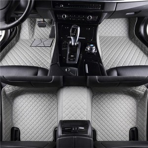 Best Sell China 6d Carpet Pvc Car Mats For Suv