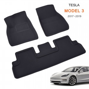 Unique All Weather Custom Fit Floor Mats For Cars For Tesla Model 3