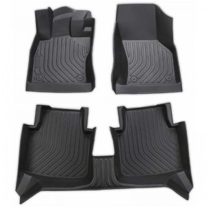 Waterproof Custom 3D Auto Cool Car Mats For Dogs For Ford Everest