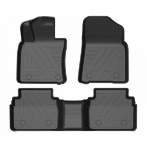 All Weather Waterproof TPO TPE Rubber Floor Mats For Cars