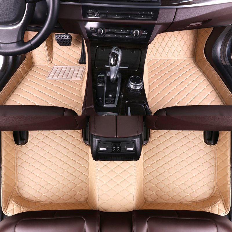 new leather car mats  1