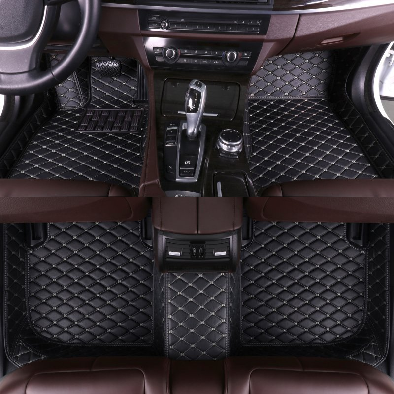 new leather car mats  6